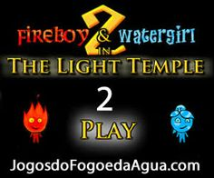 Video do Jogo do Fogo e da Água 2 no Templo da Luz