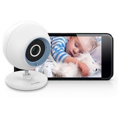 D-Link DCS-800L Wi-Fi Day & Night Live View Baby Monitor. These things can easily be hacked, so safe images only.