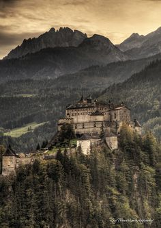 Top 10 Places to visit in Austria - pic: Hohenwerfen in Salzburg