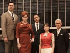 I had a hard time getting back into the groove with my friends at Sterling Cooper Draper Price last night. Maybe 17 months' absence is too long.