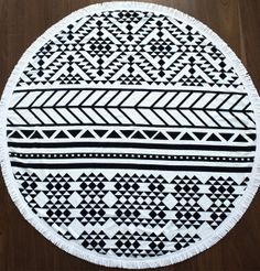 // Roundie Towel by The Beach People/The Horse //