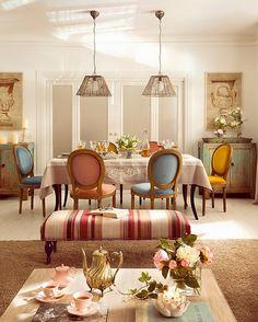 IDEAS DECO: Decora con muebles de madera y colores neutros