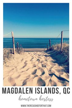 Magdalen Islands, Quebec {Vacation Itinerary} - There's a Shoe for That Best Campgrounds, Le Havre, Canada Travel, Summer Travel, Oh The Places You'll Go, Solo Travel, Outdoor Travel, Adventure Time, Travel Inspiration