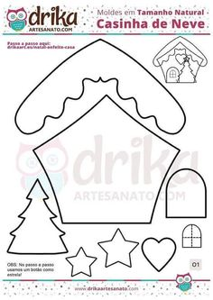Super Sewing Projects Felt Templates 32 Ideas - Happy Christmas - Noel 2020 ideas-Happy New Year-Christmas Christmas Ornament Template, Sewn Christmas Ornaments, Felt Christmas Decorations, Christmas Origami, Christmas Templates, Christmas Sewing, Felt Ornaments, Handmade Christmas, Christmas Crafts