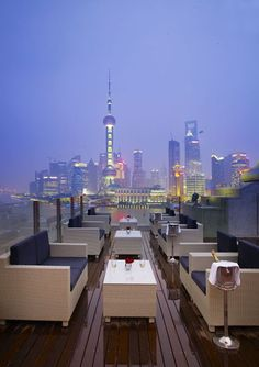 Roosevelt Rooftop Lounge, Shanghai /@Deborah Tay-Tor would love to check it out next trip!