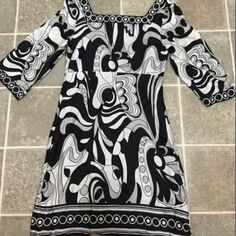 White House Black Market dress WH|BM dress (size 0, 3/4 sleeve, I think was worn once or twice). Use offer button, please.  No trades or PP.  Comment for more info if interested! 😊 ALL offers welcome!  WILL BE TAKEN TO THE GOODWILL IN A WEEK IF NOT SOLD. Other