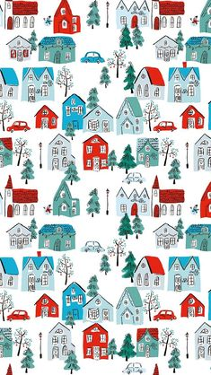 holiday wallpaper Heres a Christmassy background to get you in the festive mood Christmas Phone Backgrounds, Christmas Phone Wallpaper, Holiday Wallpaper, Winter Wallpaper, Christmas Background, Rustic Christmas Trees, Decoration Christmas, Christmas Art, Christmas Town