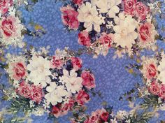 Vintage wrapping paper #floral #holiday #gift #wrap