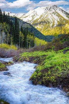 HIKE UTAH. There is nothing better than hiking in spring snow melt in the Wasatch mountains