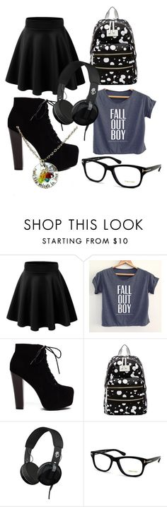 """""""Random"""" by antisocialinteraction ❤ liked on Polyvore featuring Marc by Marc Jacobs, Skullcandy and Tom Ford"""