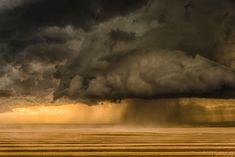 © Eric Meola / Tornado Alley / Rear Flanking Downdraft. Near Wheatland, Wyoming