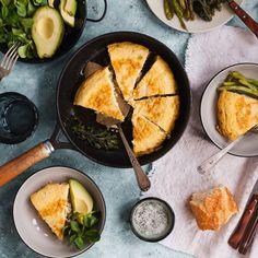 Quiche sans pâte thon, champignons et gruyère