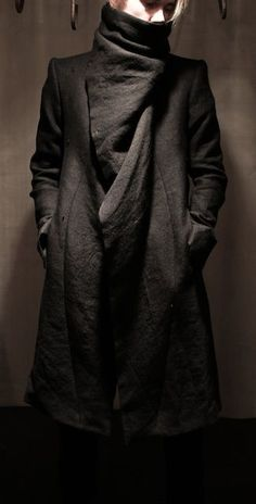 The new Dark Wave Century) If i was fucking tall Xc lol Goth Ninja, Dark Fashion, Mens Fashion, Fashion Goth, Dystopian Fashion, Street Goth, Post Apocalyptic Fashion, Dark Mori, Looks Black