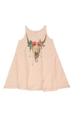 At Koko Blush Wildfox Kids Desert Dahlia Cassidy Dress in Pink Wood Discount Sale section at Koko Blush