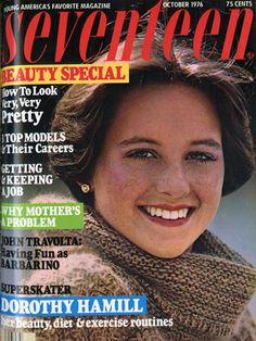 Dorothy Hamil 1976 Seventeen Magazine This was the haircut that inspired many