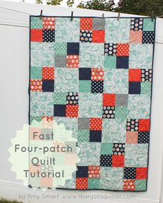 Fast Four-Patch by Amy Smart | Craftsy