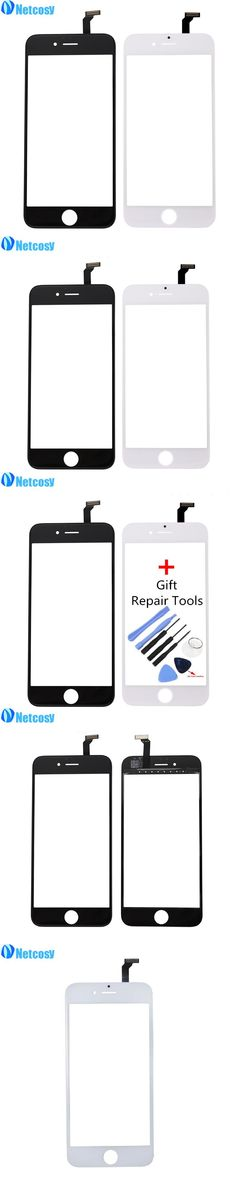 Netcosy Touch Screen Digitizer Front Touch Panel Display Glass Lens TouchScreen for iPhone 6 6G & Tools Mobile Phone Accessories