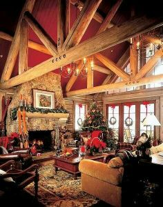 I want to live here. And celebrate Christmas here. And have it be a tradition that the whole family celebrates Christmas here.