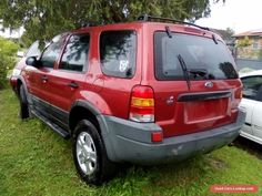2002 XLT SERIES FORD ESCAPE WAGON AUTO SOLD WHOLE OR PARTS FROM $1. #ford #escape #forsale #australia