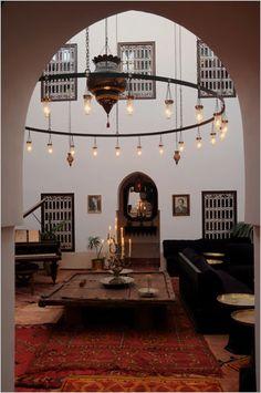 Inner courtyard. Morocco.IInner courtyard. Morocco.nner  courtyard. Morocco.