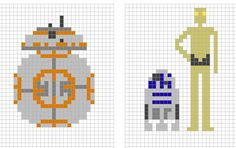 Star Wars Cross Stitch: Droid Booties