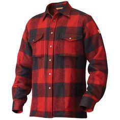 "FJALLRAVEN* ""Canada"" Lumberjack Shirt, Red"