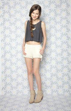 1e0bc1c71ccf Brooklyn Boxer Shorts by Isabella Rose Taylor - Front Junior Fashion