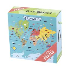Amazon.com: Our World Jumbo Puzzle: Toys & Games