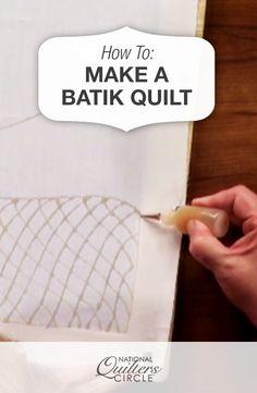How to Make a Batik Quilt  #LetsQuilt