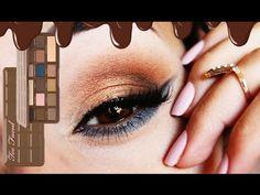 TOO FACED SEMI SWEET CHOCOLATE BAR | MAKEUP LOOK - YouTube Chocolate Bar Makeup, Too Faced Semi Sweet, Makeup Tutorials, Makeup Looks, Eye Makeup, Make Up, Youtube, Hair, Beauty