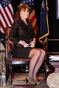 All sarah palin upskirt live