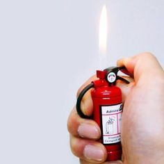 Fire Extinguisher Lighter ( I am confused.. Amazon link :: www.amazon.com/... )