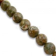 8mm Epidote Stone Beads   Price : $3.99
