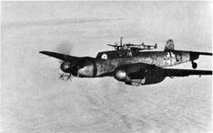 Me-110 with Lichtenstein B.C. radar