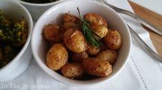 La Fée Stéphanie: Délice de petites pommes de terre à la moutarde - recette végétalienne