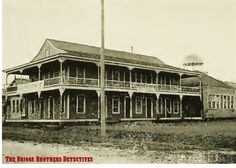 Victoria Cottage (sometimes referred to as Victoria Inn and Victoria Hotel) was built in 1900 on the north side of Reed Road close to the intersection with Center St. Like most of the hotels at the, the two-story building had a large veranda, which in this case wrapped around the Victoria's four sides. It could accommodate 50 guests with rates at $1.50 per day. The Virginia was eventually torn down in 1959.