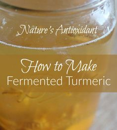 Boost your immune system with fermented turmeric! Find out how to make it with salt or sugar!