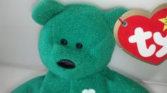 Check out this item in my Etsy shop https://www.etsy.com/listing/249562967/erin-the-irish-bear-retired-original