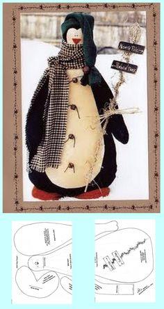 pinguins, bonecos natalinos...etc.