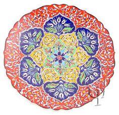 Turkish Plate Ceramic Pottery