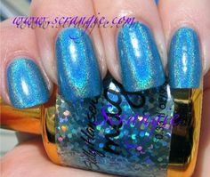 Sally Hansen Magical Nail Makeup Blue Aura