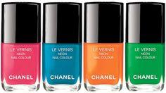 CHANEL Le Vernis Neon Summer 2017