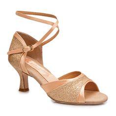 Capezio Nadia Latin Dance Shoes BR159| Dancesport Fashion @ DanceShopper.com