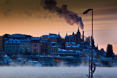 MATS LINDFORS FOTOGRAF: Winter photos from Stockholm. Take a look at his photos from around Stockholm, beautiful.