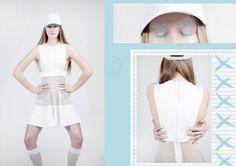 fashion designer: Jagoda Kawicka model: Alicja Król/ UNITEDforMODELS mua/hair: It's all about MakeUp