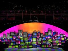 PHOTO: Dancers perform during the Favela Voices segement of Opening Ceremony of the Rio 2016 Olympic Games at…