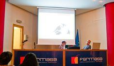 """Charla """"Ciencias de la vida entre vinetas"""" con Emilio De La Fuente Lucena. Foto: Lidia Fernández. #XIXSalónDelCómicGr #CEntreViñetas"""