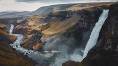 I will shoot badass drone footage in iceland Drone Videography, Iceland, Badass, Waterfall, Outdoor, Ice Land, Outdoors, Waterfalls, Outdoor Games