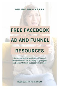 If you want to scale your online business, sell that fabulous course or simply grow your email list, you'll love my free resources page! These really are the best bits, usually reserved for my clients and students! So explore my favourite audience growth strategies and revenue generating funnels now. I can't wait to hear how these resources help you and your online business! Facebook Marketing, Online Business, Tips, Advice