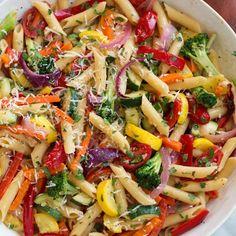 Pastas Recipes, Pasta Salad Recipes, Dinner Recipes, Dinner Ideas, Recipe Pasta, Noodle Recipes, Lunch Recipes, Healthy Pastas, Healthy Recipes